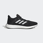 Adidas PUREBOOST 21 男款黑色運動慢跑鞋-NO.GW4832