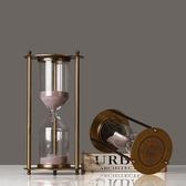 沙漏三件套計時器北歐創意家居金屬擺件結婚情人節禮物愛情時間