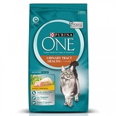 【寵物王國】普瑞納-ONE CAT 頂級貓乾糧【成貓泌尿保健雞肉配方】3kg x2包(128392)