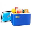 手提5L戶外PU食品包藍冰保溫箱醫藥冷藏箱 NMS 樂活生活館