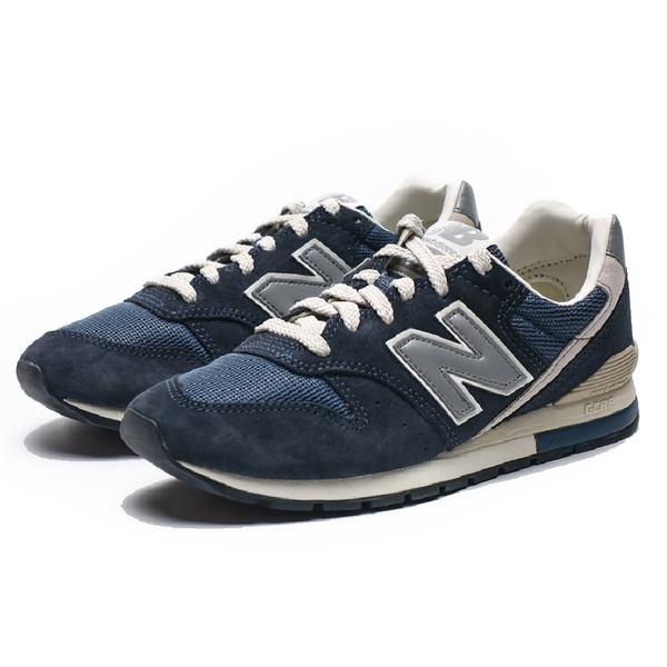 NEW BALANCE NB996 海軍藍 麂皮 反光 復古跑鞋 男女 (布魯克林) CM996GN