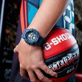 CASIO 卡西歐 G-SHOCK 90年代音響概念手錶-土耳其藍 GA-140-2A