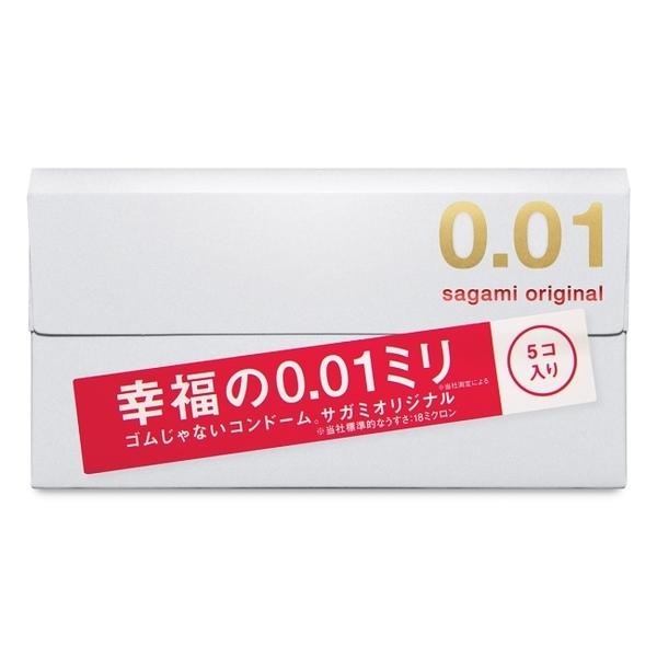 SAGAMI 相模元祖 0.01 PU 保險套 5 入