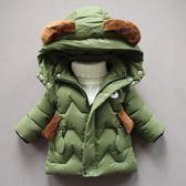 童裝男童寶寶冬裝兒童棉衣加厚棉襖小孩外套羽絨棉服