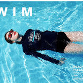 潛水服/泳衣 韓國分體潛水服女長袖長褲防曬速干泳衣沖浪浮潛服顯瘦水母衣