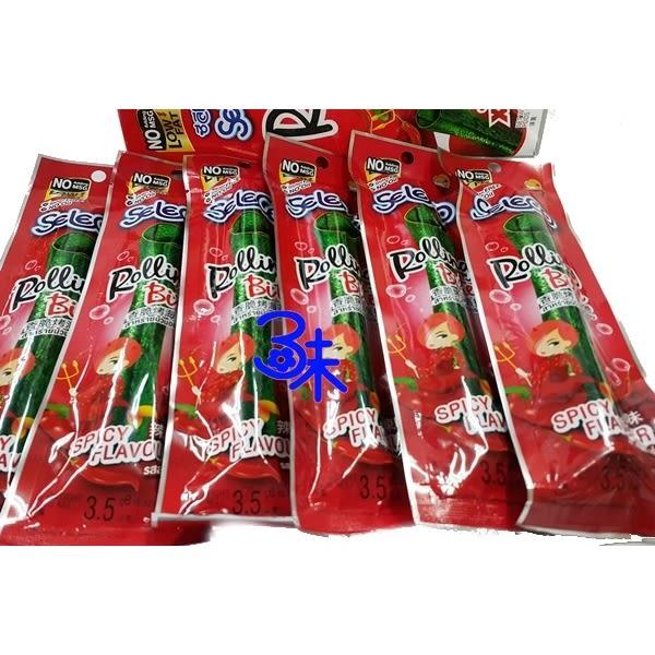 (泰國) Seleco 喜樂口 香脆烤海苔捲-辣味 1盒42公克(3.5公克*12支)【8852116805244】