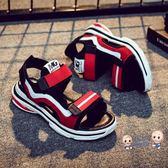涼鞋男 男童涼鞋2019新款中大童韓版女童夏季沙灘鞋兒童學生軟底寶寶童鞋 3色