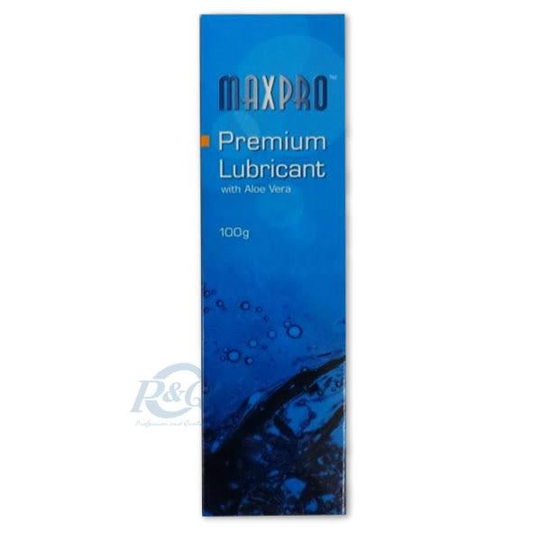 專品藥局 MAXPRO 瑪斯普羅 高品質 蘆薈醫療級潤滑液劑 100g (多國認證,durex杜蕾斯最大代工廠製造)