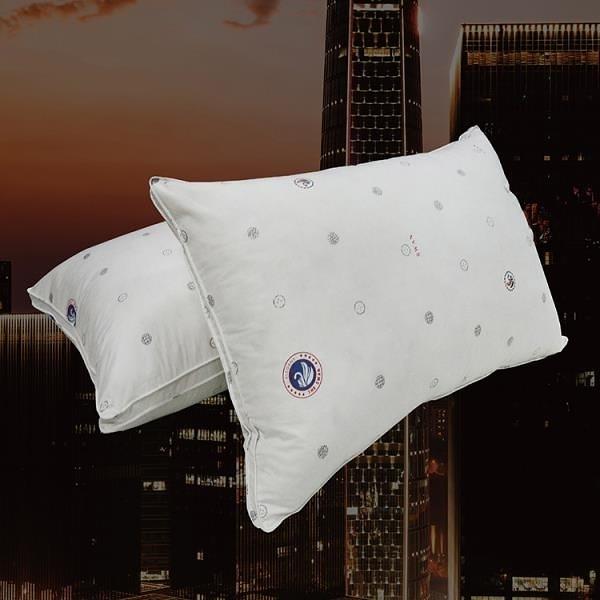 【南紡購物中心】【Indian】特級飯店鵝毛絨枕(2顆)