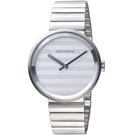 ISSEY MIYAKE三宅一生PLEASE系列波紋概念腕錶     VJ20-0110S SILAAA05Y