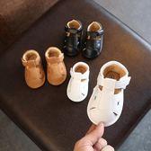 寶寶夏季全館免運鏤空涼鞋6-12-18月嬰兒步前鞋半歲男女童軟底學步鞋台秋節88折