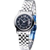 TITONI Spacestar 世紀之星 女用機械錶 23738S-363
