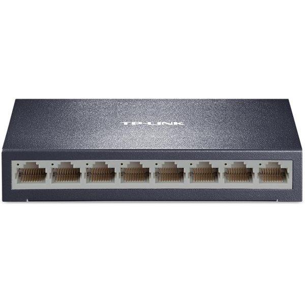 TP-LinkTL-SF1008D百兆交換機8口網路分線器分流器交換器【四季生活館】