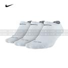 (特價) Nike Dri-FIT 踝襪 SX4834-101 白色 三雙一組 Half Cushion No Show 3-Pack Socks