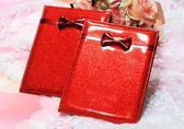 鏡子新娘化妝鏡嫁妝紅色一對結婚鏡子套裝梳子結婚陪嫁用品    古梵希