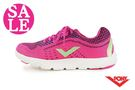 PONY START NEO 慢跑鞋 女款 台灣製 夜間反光 透氣運動鞋 零碼出清 J9433#桃紅◆OSOME奧森童鞋