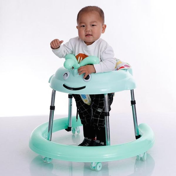 嬰幼兒學步車防側翻寶寶帶音樂手推可坐折疊