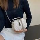 2021新款潮菱格錬條包女小包高級感精致小眾流蘇小方包手提斜背包 黛尼時尚精品