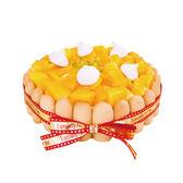 【上城蛋糕】芒果鮮酪軟糕(6吋) 愛文芒果 芒果甜點 芒果點心 芒果蛋糕 團購TOP1