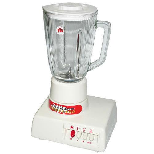 【全家福】1500c.c冰沙果汁機 MX-817A 不銹鋼鋸齒刀片 +自動斷電安全設計 【刷卡分期+免運】