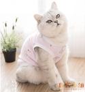 寵物貓咪狗狗衣服夏季薄款寵物防掉毛清新薄款【倪醬小鋪】