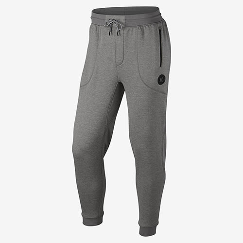 Hurley DRI-FIT DISPERSE PANT DRI-FIT刷毛布休閒長褲-男(灰)