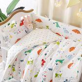 定做嬰兒床圍套件純棉防撞可拆洗新生兒幼兒園寶寶床上用品五件套YXS『小宅妮時尚』