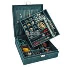首飾盒雙層大容量復古帶鎖歐式木質ins風耳釘耳環手鐲飾品收納盒