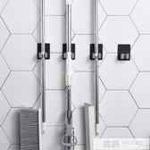 不銹鋼拖把架免打孔壁掛浴室掛架衛生間掛鉤固定卡扣夾子收納架子  雙12購物節 YTL