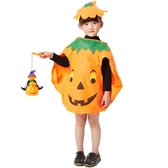 兒童萬圣節服裝女童男童南瓜服套裝幼兒園化妝舞會演出道具服裝飾