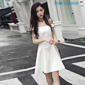 性感女裝顯瘦一字領洋裝洛麗的雜貨鋪