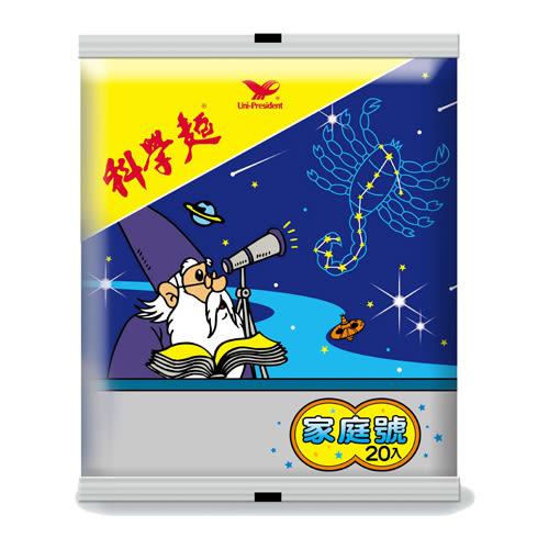 統一科學麵家庭號15g*20入【愛買】