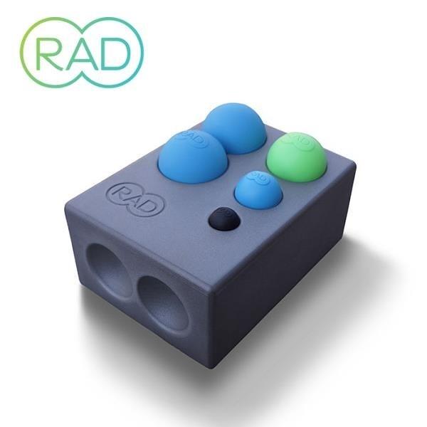 【南紡購物中心】RAD Point Release Kit 瑜珈磚套組 花生球+3種尺寸按摩球+瑜珈磚