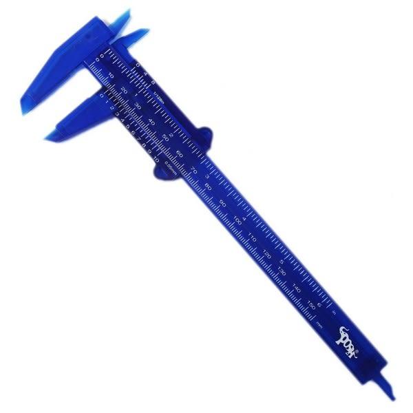 雷鳥 游標卡尺 0-15cm測量工具 NO.406/一盒12支入{定55} 可測長厚度 塑膠材質 全新 多功能