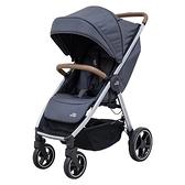 Britax Agile M 旗艦款嬰兒推車-深空灰 (附贈- 杯架+雨罩)