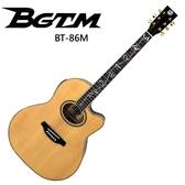 ★BGTM★嚴選BT-86M(平光)電木吉他~生命樹指板-內建調音器