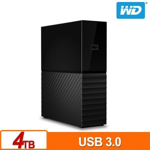 WD My Book 4TB 3.5吋外接硬碟(SESN)(與 Windows 和 Mac 相容)