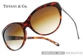 Tiffany&CO.太陽眼鏡 TF4065BA 80023B (琥珀) 復古造型貓眼愛心款 # 金橘眼鏡