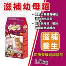 【LV藍帶精選】【第2包8折】滋補幼母貓1.5KG - 貓飼料
