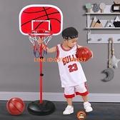 兒童籃球架可升降室內投籃框球框皮球玩具【淘夢屋】