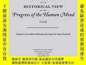 二手書博民逛書店Outlines罕見Of An Historical View Of The Progress Of The Hu