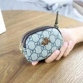 歐美大牌新款雙拉鏈包女士短款錢包迷你小手包可愛零錢卡包 潮流前線