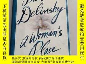 二手書博民逛書店A罕見Woman s Place: A Novel女人的地方:一部小說【精裝 原版 扉頁有英文字】毛邊本