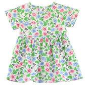 【愛的世界】純棉短袖拉鍊洋裝/1~3歲-台灣製- ★春夏洋裝