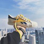 運動鞋 男士韓版潮流低筒帆布鞋學生運動休閒鞋百搭板鞋夏季透氣鞋子【韓國時尚週】