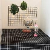 桌布宿舍書桌大學學生ins日式北歐小清新棉麻文藝電腦桌寢室攝影