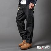 Big Train 日式潮人經典垮褲-男-固色-BM6106