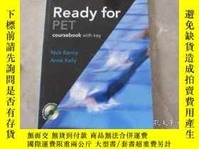 二手書博民逛書店New罕見Ready for PET: Student s Bo
