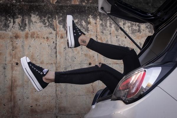 IMPACT Converse Ctas Lift 黑 白 厚底 帆布鞋 增高 韓國限定 560250C 560251C