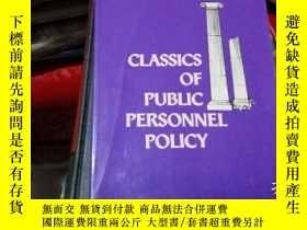 二手書博民逛書店classics罕見of public personnel po